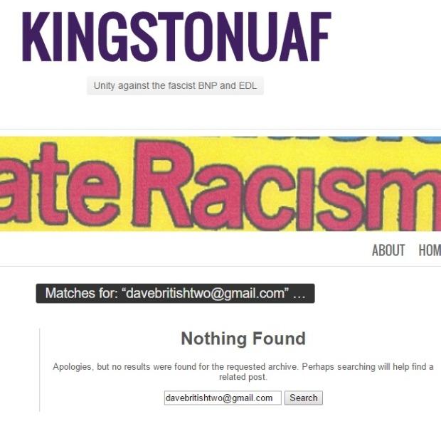 Kingston UAF Search