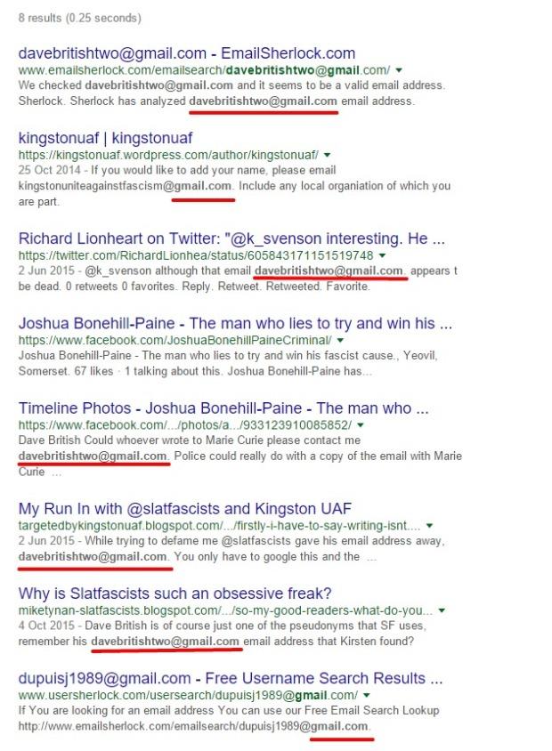 Plain Google Search
