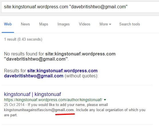 Site Specific Google Search